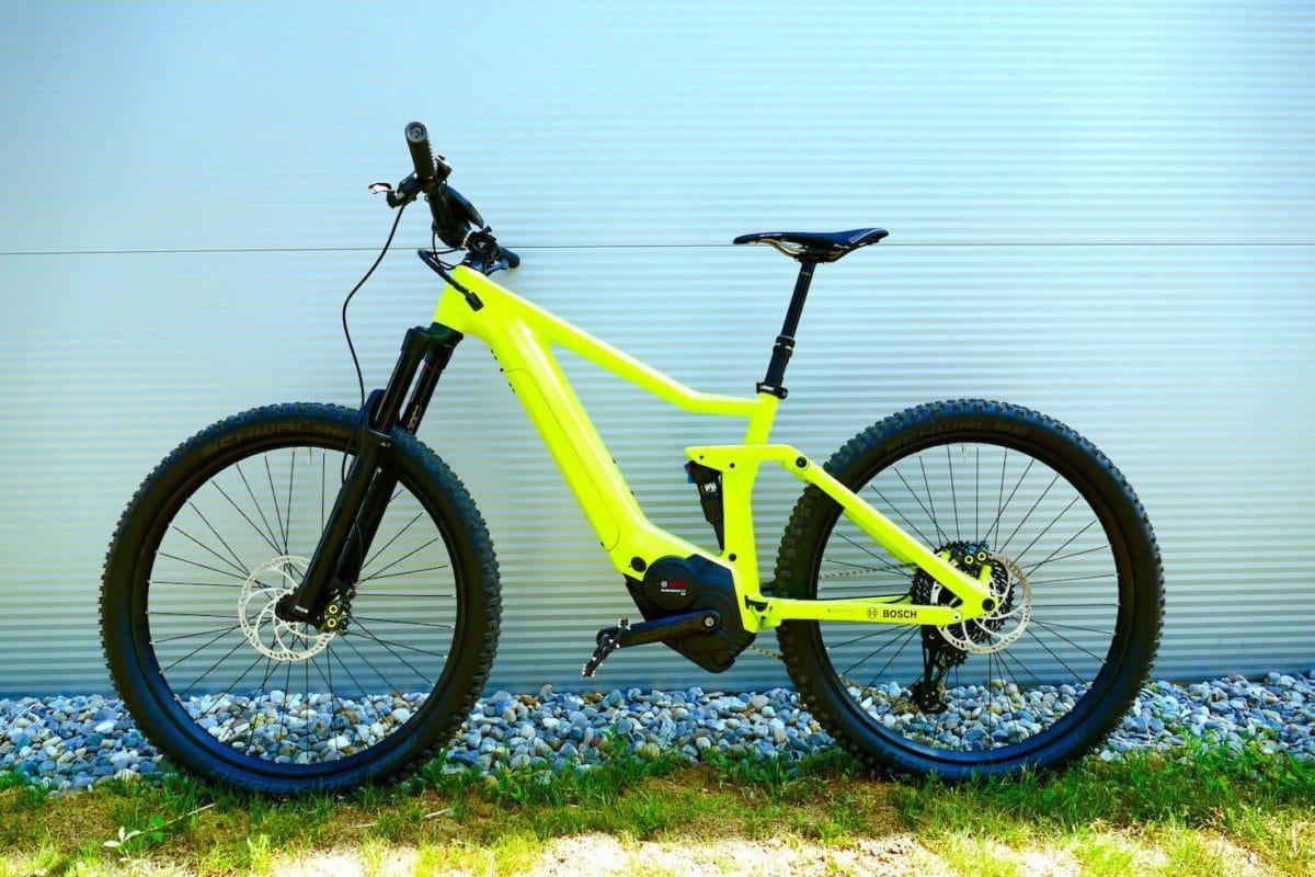 E-Mountainbike für Bosch eMTB Modus Test