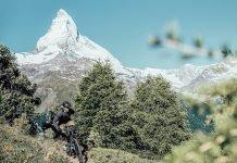 Flyer 2018 unterwegs am Matterhorn