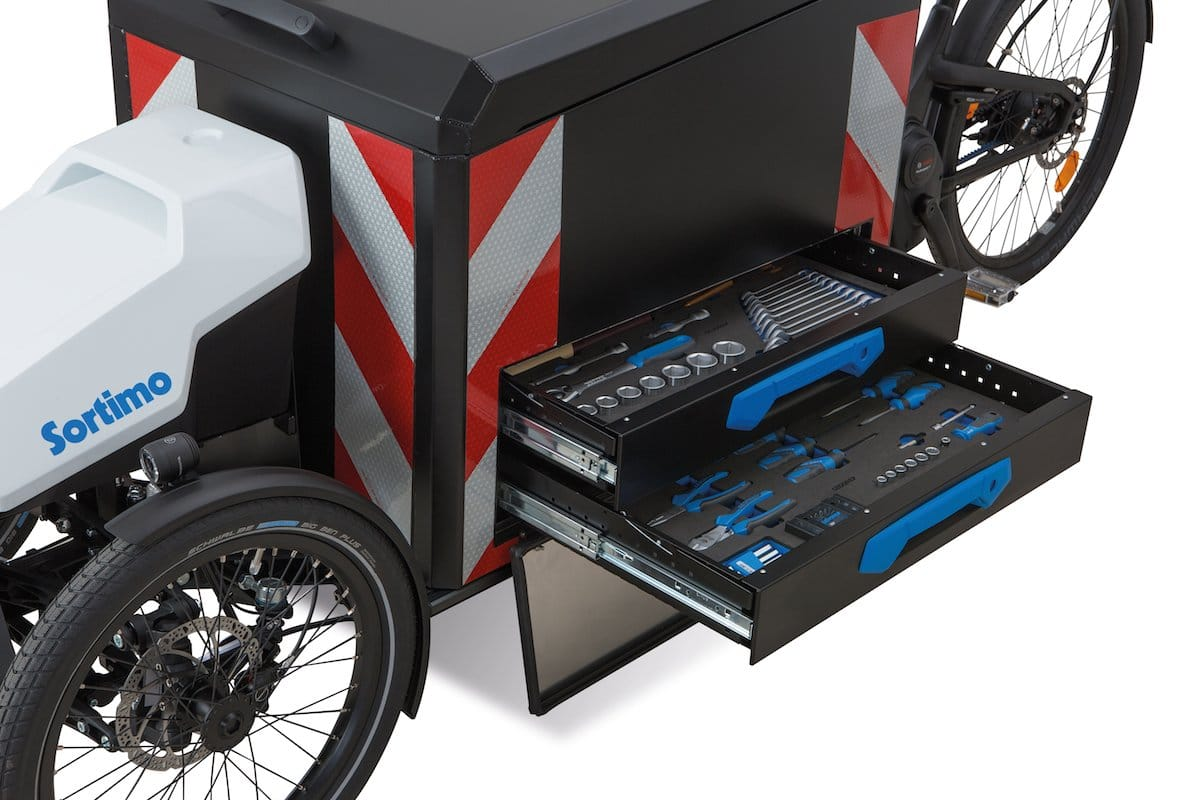 ausgezeichnetes procargo ct1 transport e bike mit servicekonzept ebike. Black Bedroom Furniture Sets. Home Design Ideas