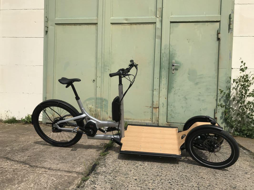 geneigte ladung cargo e bike cd1 im test ebike. Black Bedroom Furniture Sets. Home Design Ideas