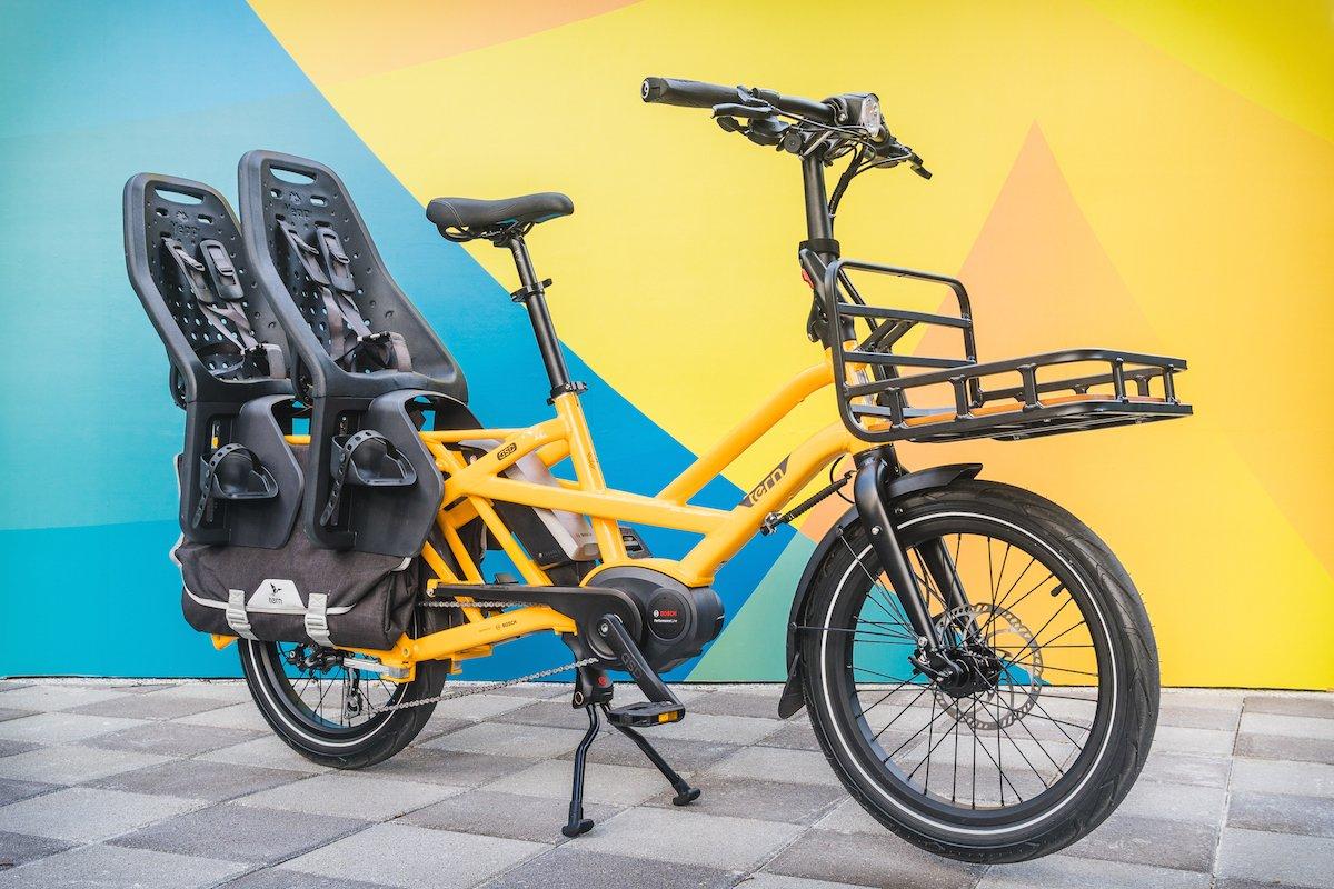 Compact Utility e-Bike GSD von Tern
