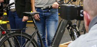 e-bike manufacture 2018 mit integriertem Akku und 48 Revolution Antrieb von Continental