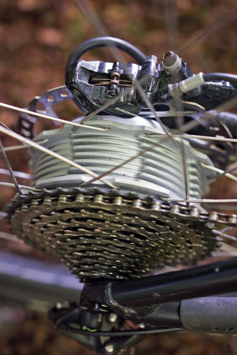 Aufsicht Maxon BikeDrive Motor