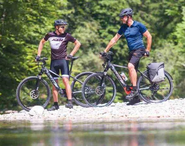 Cross Fit mit den KTM Trekking e-Bikes
