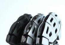 Falt-Helm von Morpher flach gemacht 2017