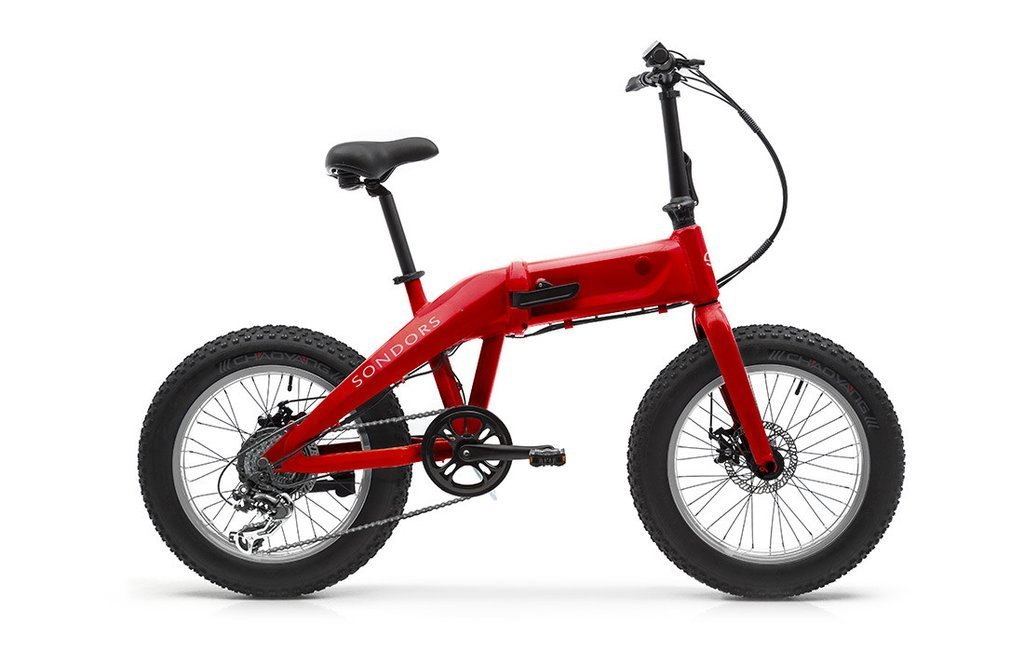 Sondors e-Bike Fold Red