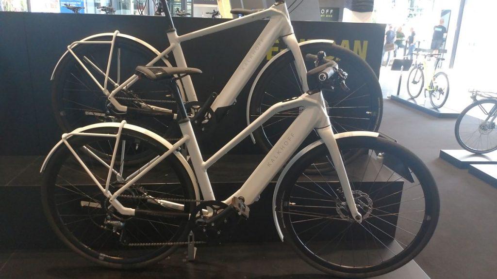 Kalkhoff Berleen e-Bike Trapezrahmen, Diamantrahmen