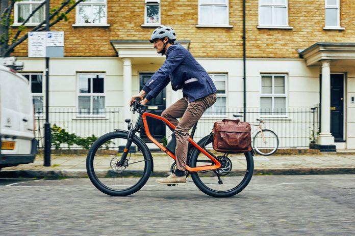 X Commuter in den Straßen von London Bild: Klever E-Bikes