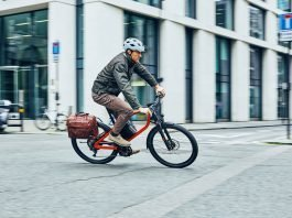 Klever e-Bikes für Pendler X Commuter unterwegs in London Bild: Klever E-Bikes