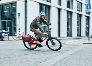 Klever e-Bikes für Pendler X Commuter unterwegs in London Bild: Klever E-Bikes