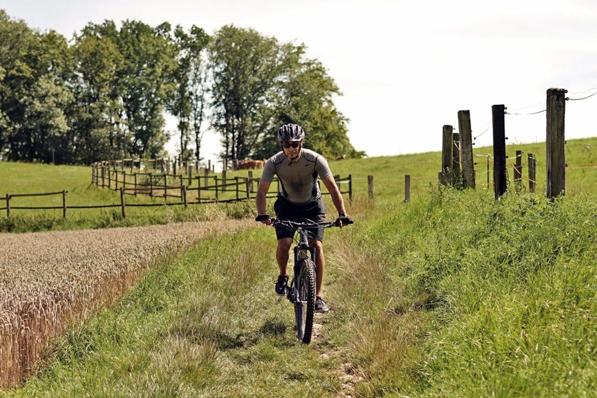 Offroad im Maxon BikeDrive Test