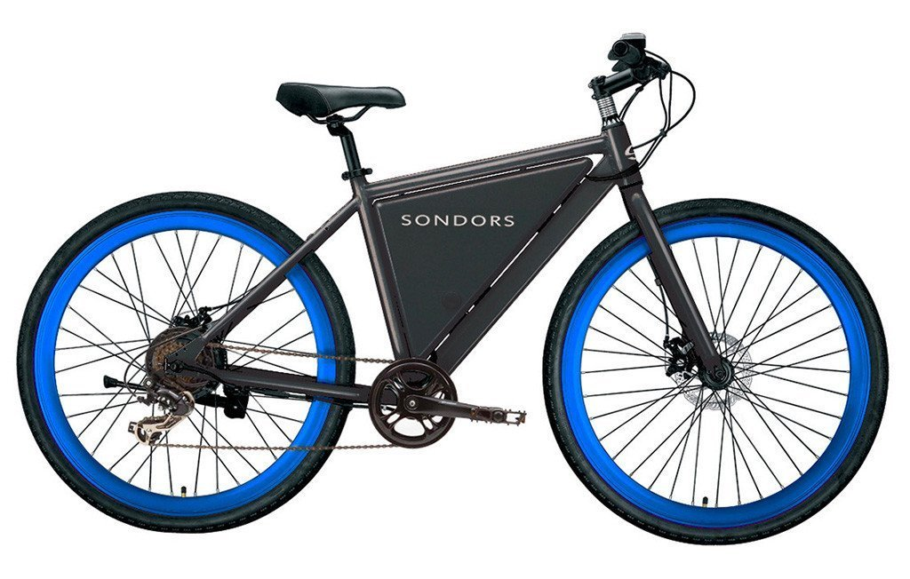 Sondors e-Bike Thin Charcoal