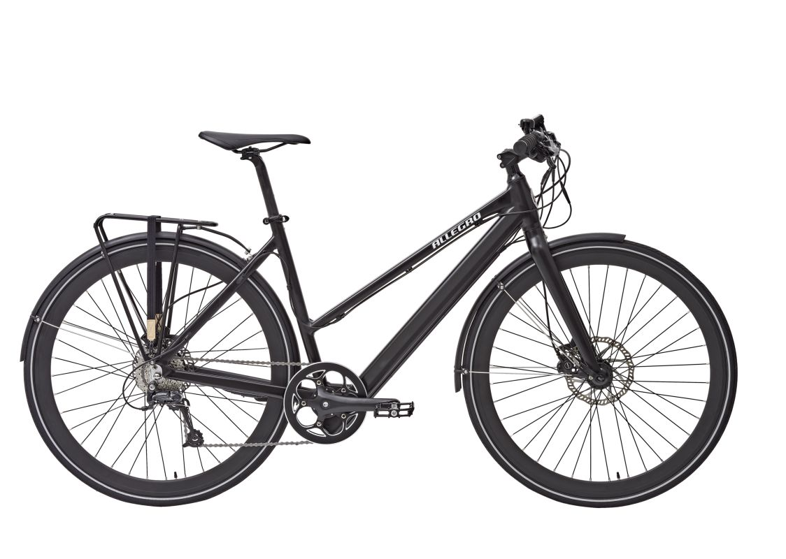 Allegro e-Bikes Invisible Comfort Rahmenhöhe 48 cm mit City Kit