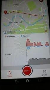 App vom Copenhagen Wheel