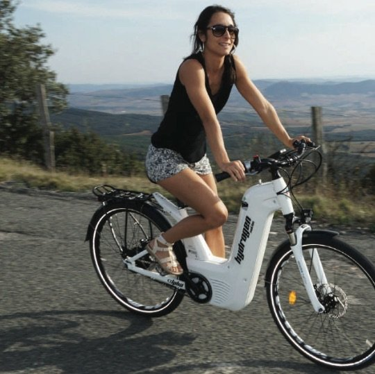 Alpha 2.0 Wasserstoff e-Bike Pragma Industries