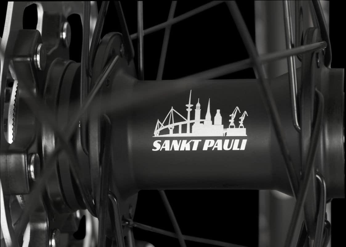 Bergamont 2018 Hub-with-St.Pauli-Logo