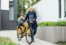 Binova e-Bikes Longtail unterwegs