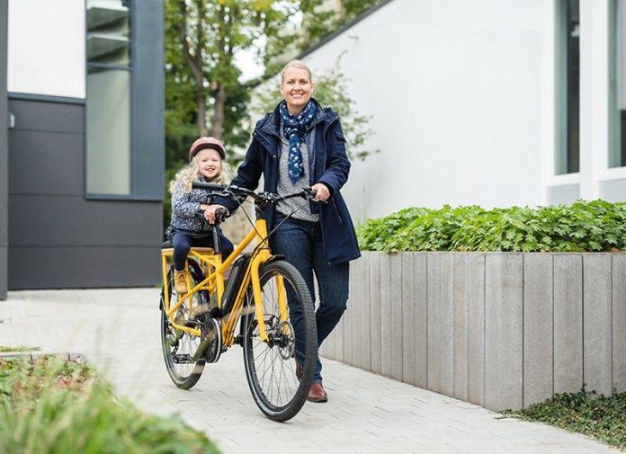 Binova e-Bikes Longtail unterwegs