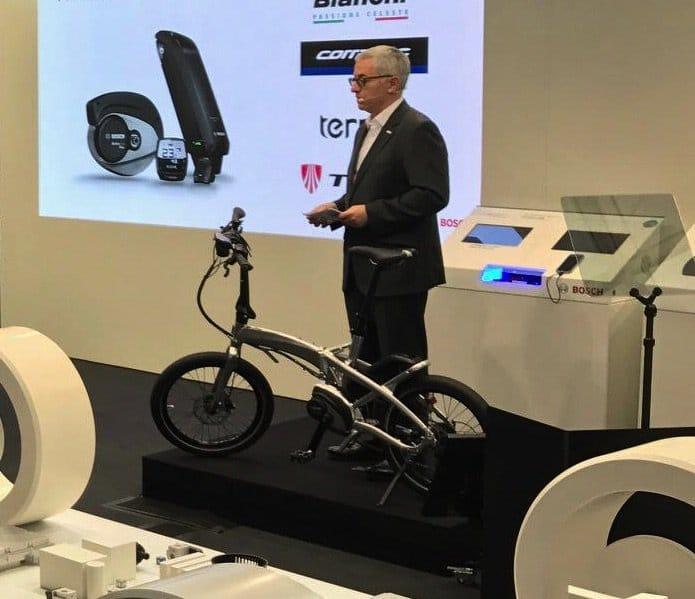 Neues Falt-Pedelec von e-Bike Hersteller Tern in Tokyo