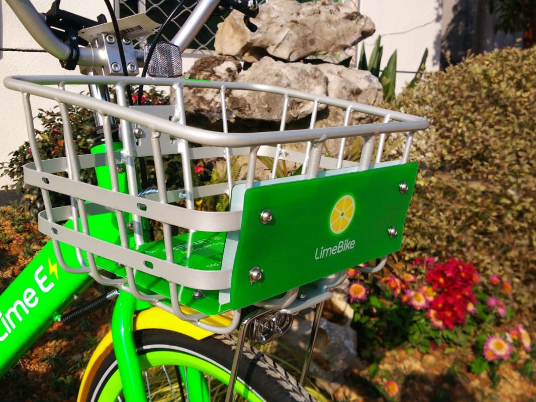 CES 2018 LimeBike Lime E Bike IYOZ7862