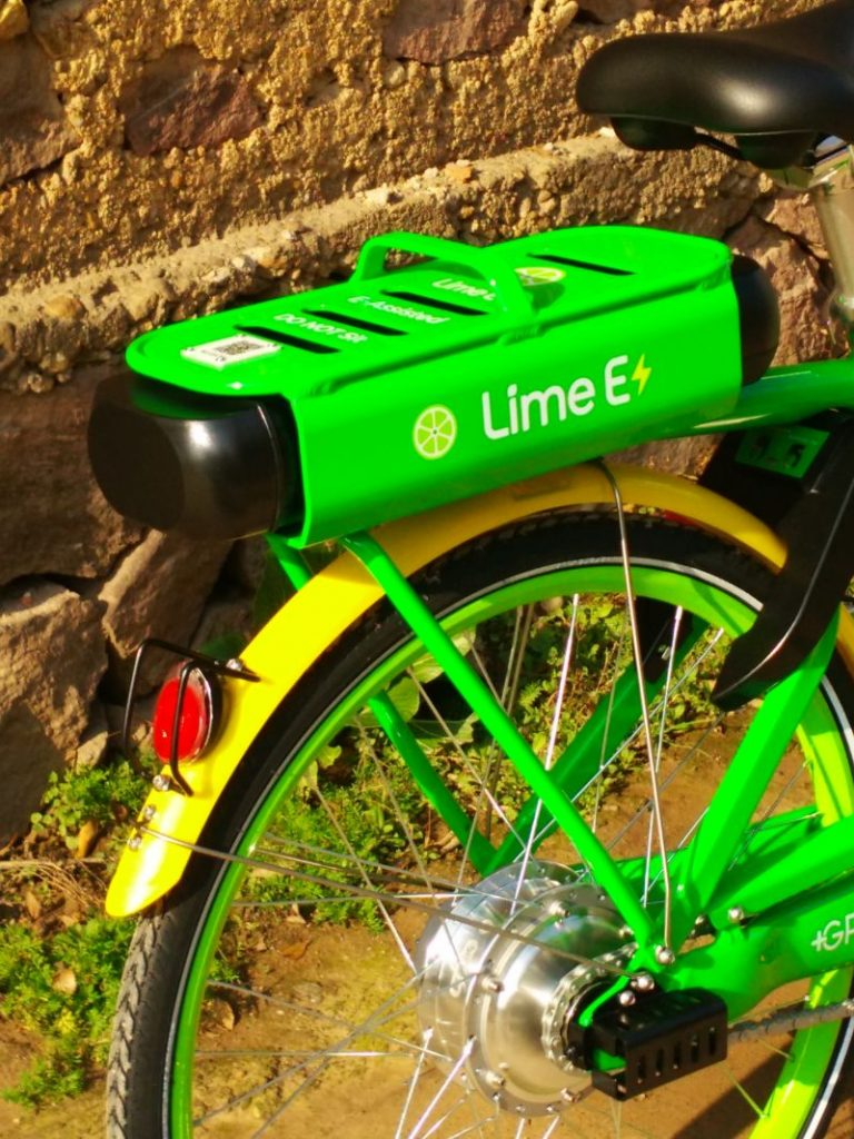 CES 2018 LimeBike Lime E Bike NVAS1435
