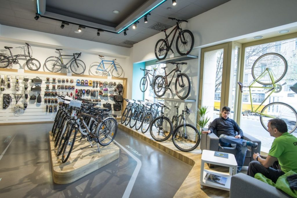 Gepida e-Bikes Flagship Store in Budapest