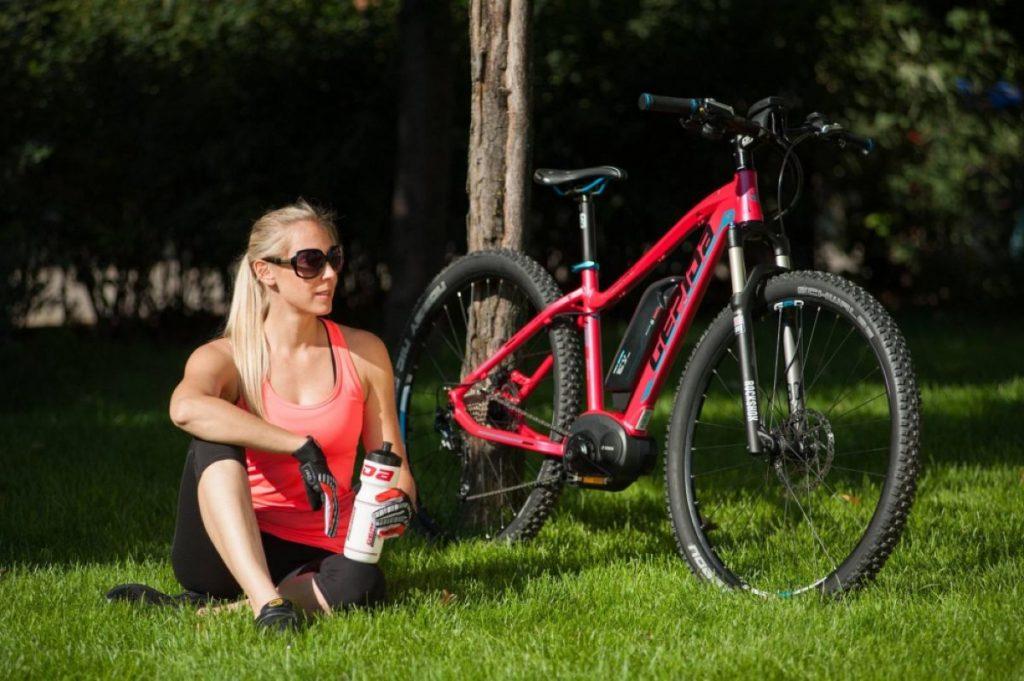 Gepida e-Bikes Modell mit Zubehör