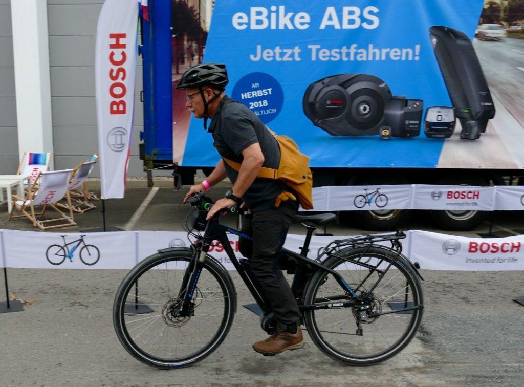 e-Bike Unfälle Bosch ABS für e-Bikes