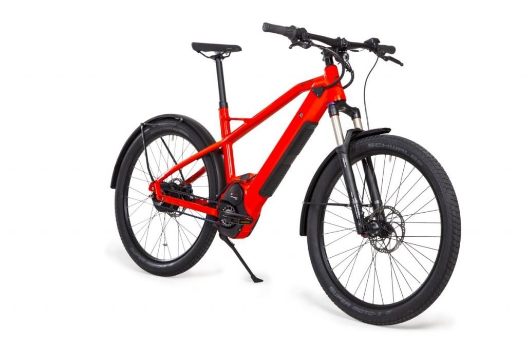 HNF NICOLAI e-MTB XD2 Urban Neon Orange