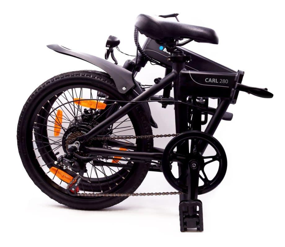 Blaupunkt e-Bikes Carl-gefaltet
