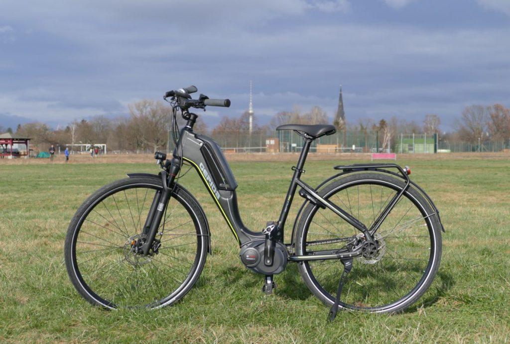 Gepida City e-Bike Test Reptilia Pro Nexus 8 Seitenansicht