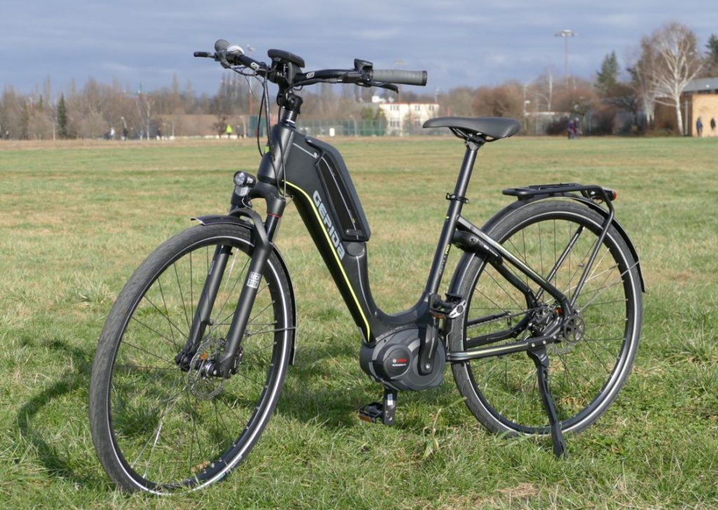 Gepida City e-Bike Test Reptilia Pro Nexus 8