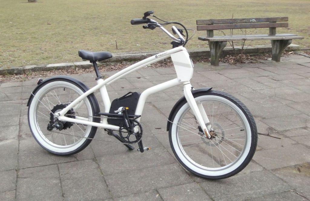 YouMo Cruiser e-Bike Test Front Dreiviertel