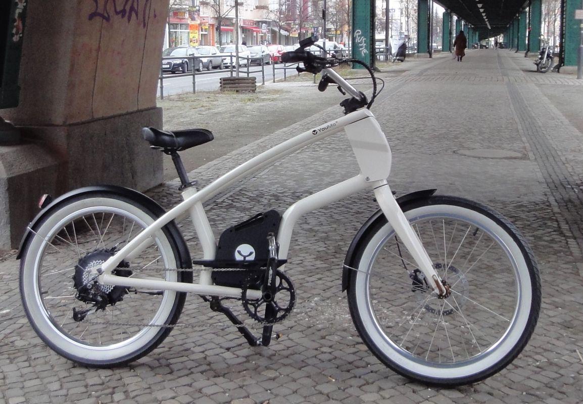 youmo cruiser e bike test stark und entspannt ebike. Black Bedroom Furniture Sets. Home Design Ideas