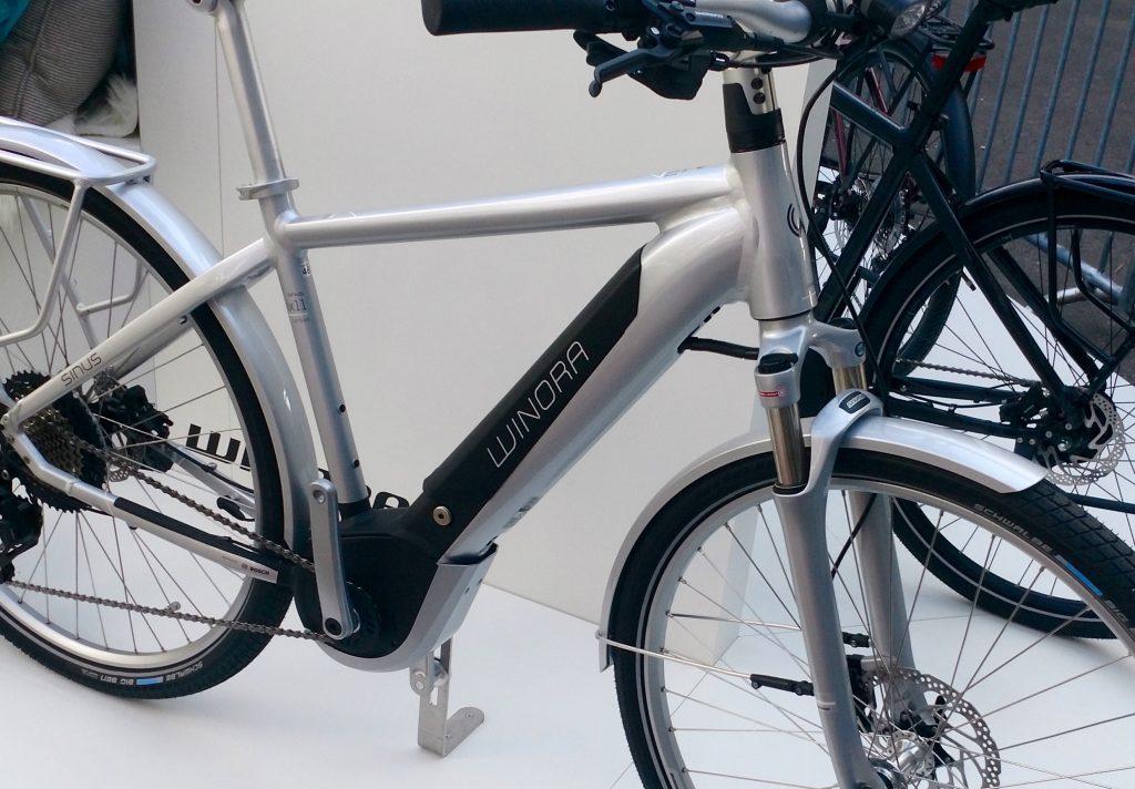 SINUS iX11 als Top-Modell unter den City e-Bikes von Winora