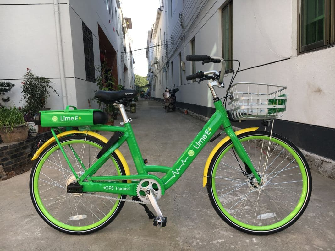 LimeBike e-Bike Leihsystem IMG_7897