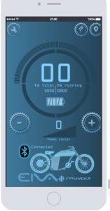 Rayvolt App EIVA System Anzeige