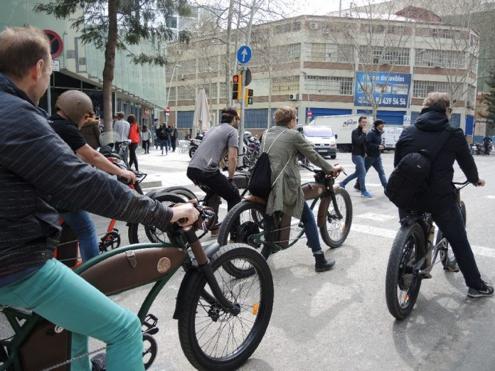 Rayvolt Cruzer e-Bike Barcelona City Tour