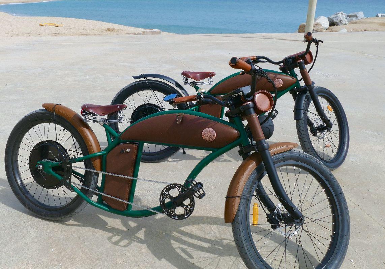 Rayvolt Cruzer e-Bike Barcelona zwei Modelle