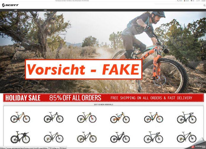 Scott warnt vor Fake Shops