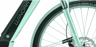 Winora City e-Bikes Sinus Detail
