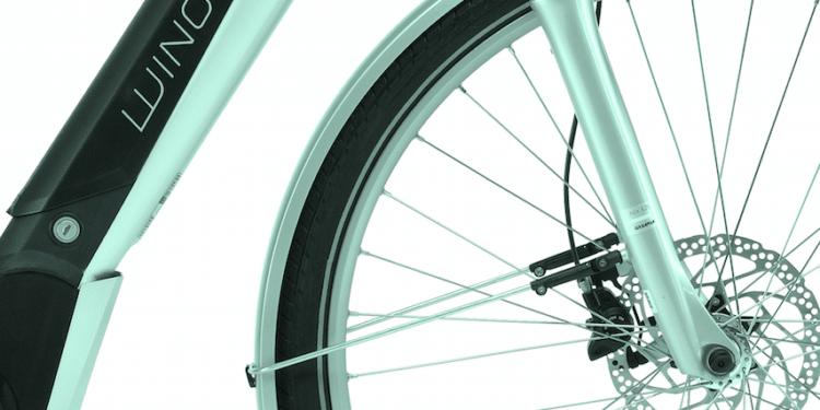 Winora City e-Bikes Sinus Detail