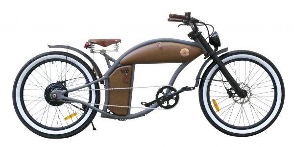 Metal Grey Lackierung mit Smart Hub Rayvolt Cruzer e-Bike
