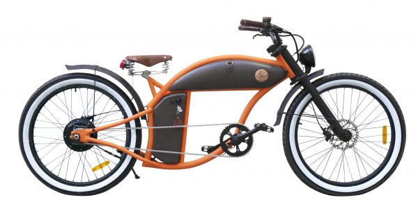 Rayvolt Cruzer Orange mit Smart Hub