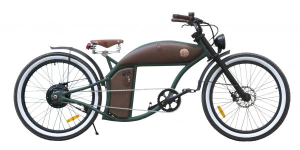 Green Rayvolt Cruzer e-Bike mit Smart Hub