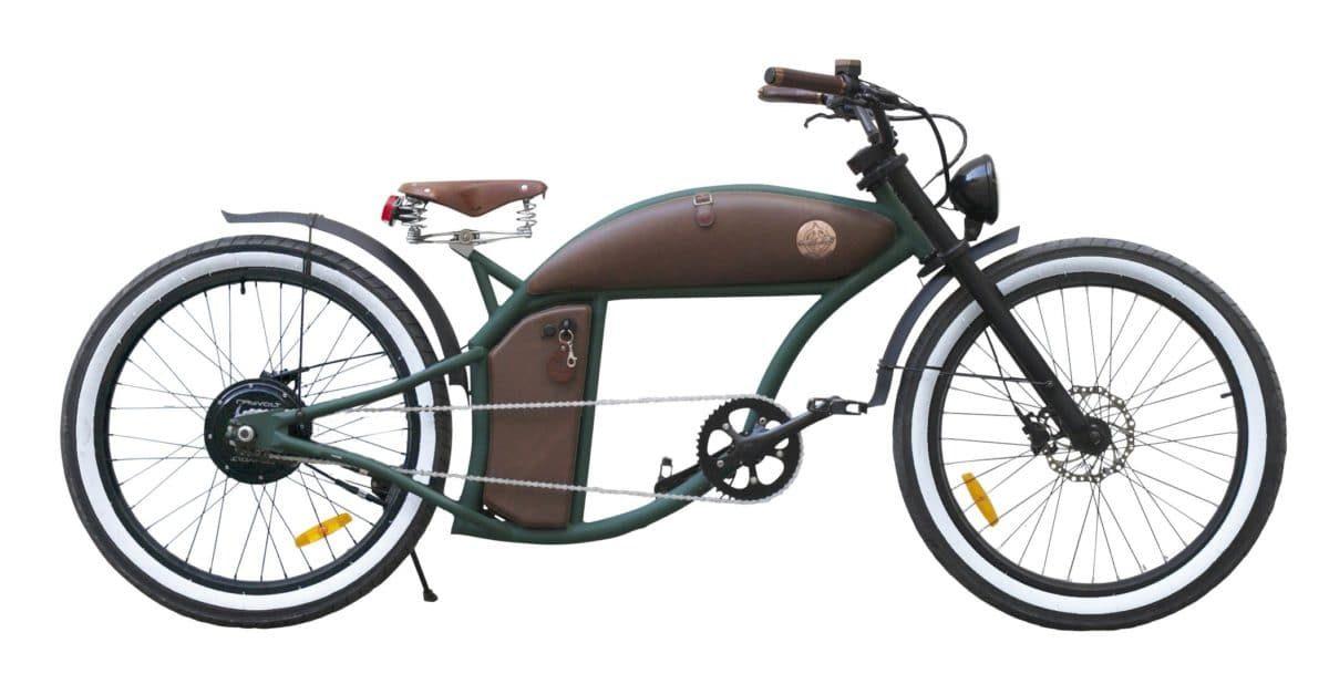 Green Rayvolt Cruzer e-Bike mit Smart Hub