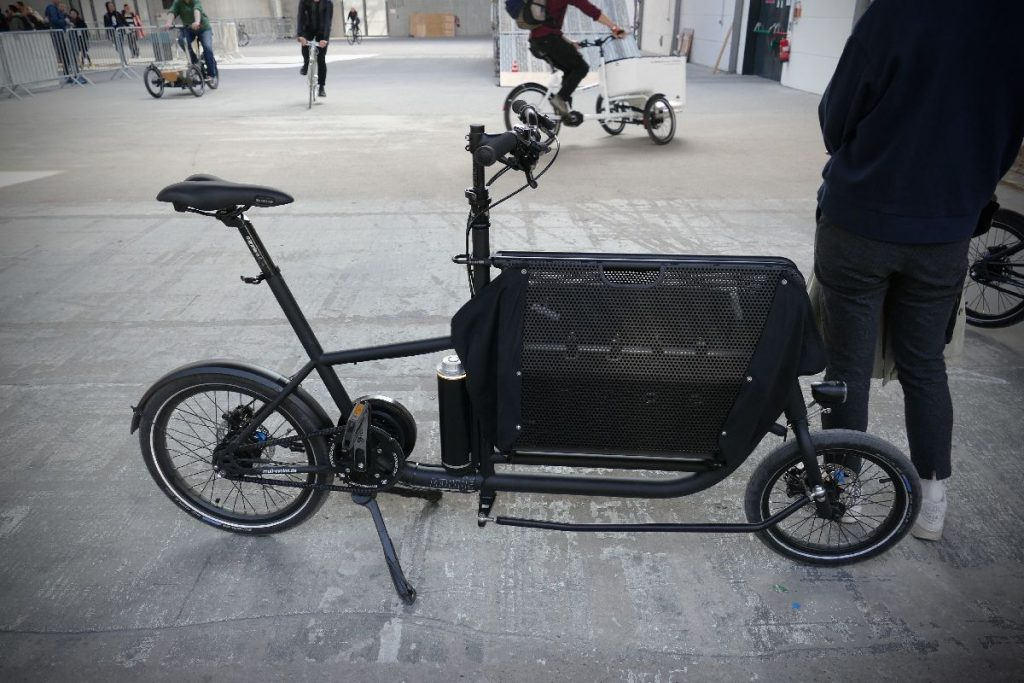 e-Lastenrad muli cycle Probefahrt