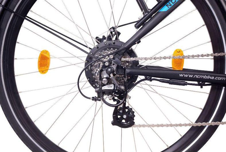 NCM E-Bikes 2020: Das Kit Motor in Hinterradnabe - eBikeNews