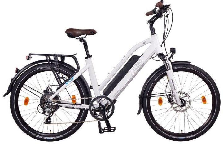 NCM Milano Seitenansicht NCM e-Bikes 2018