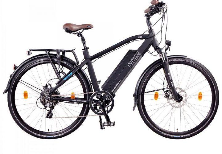 NCM e-Bikes 2018 NCM Venice Plus Seitenansicht